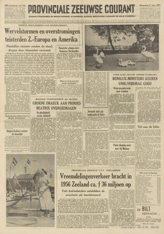 Provinciale Zeeuwse Courant 1957-06-17