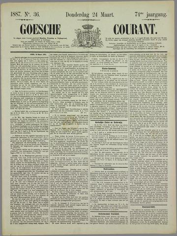 Goessche Courant 1887-03-24