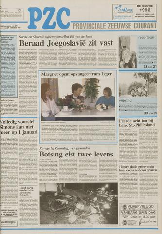 Provinciale Zeeuwse Courant 1991-10-26