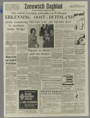 Zeeuwsch Dagblad 1961-09-25