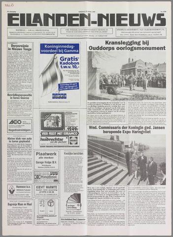 Eilanden-nieuws. Christelijk streekblad op gereformeerde grondslag 1995-04-28