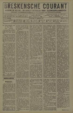 Breskensche Courant 1927-08-24