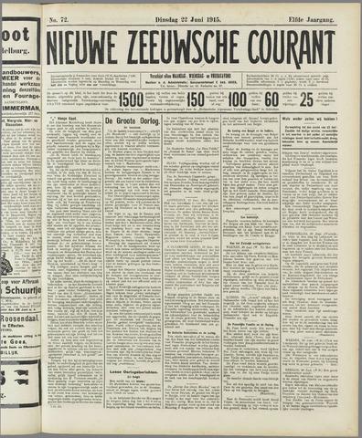 Nieuwe Zeeuwsche Courant 1915-06-22