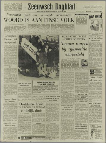 Zeeuwsch Dagblad 1961-11-15