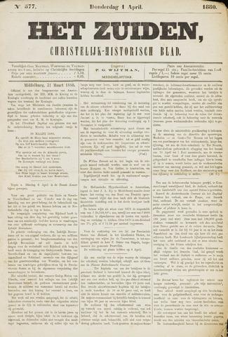 Het Zuiden, Christelijk-historisch blad 1880-03-30