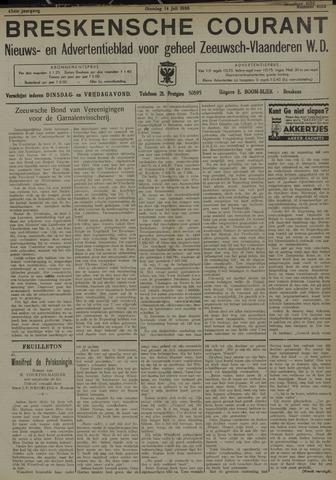 Breskensche Courant 1936-07-14