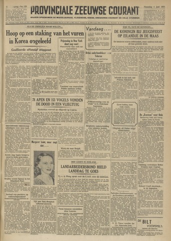 Provinciale Zeeuwse Courant 1951-06-04