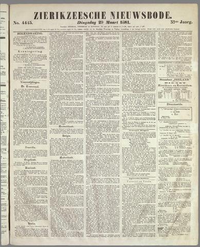 Zierikzeesche Nieuwsbode 1881-03-29