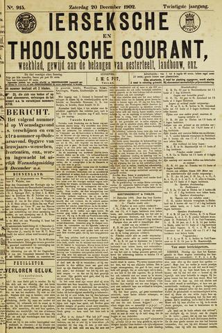 Ierseksche en Thoolsche Courant 1902-12-20