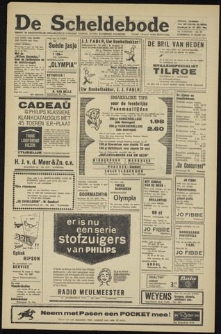 Scheldebode 1961-03-30