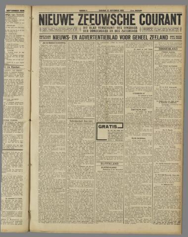 Nieuwe Zeeuwsche Courant 1925-09-22