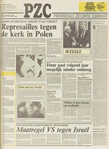 Provinciale Zeeuwse Courant 1981-12-19