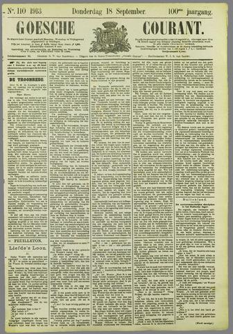 Goessche Courant 1913-09-18