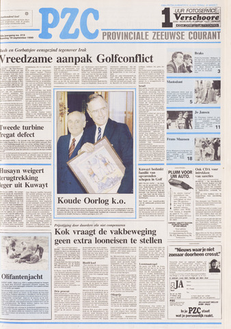 Provinciale Zeeuwse Courant 1990-09-10