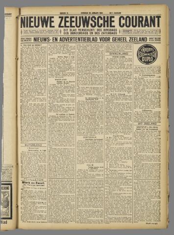 Nieuwe Zeeuwsche Courant 1924-01-29