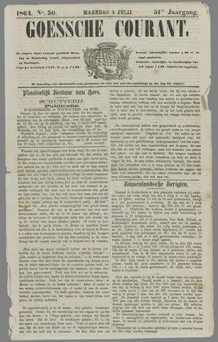 Goessche Courant 1864-07-04
