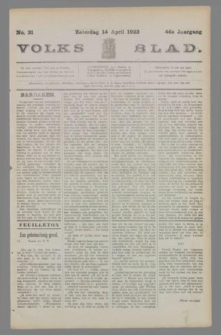 Volksblad 1923-04-14