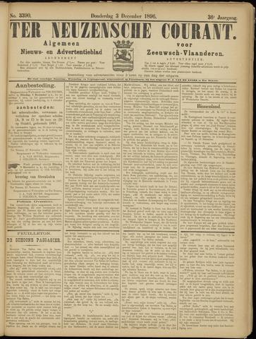 Ter Neuzensche Courant. Algemeen Nieuws- en Advertentieblad voor Zeeuwsch-Vlaanderen / Neuzensche Courant ... (idem) / (Algemeen) nieuws en advertentieblad voor Zeeuwsch-Vlaanderen 1896-12-03