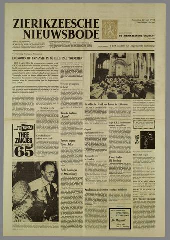 Zierikzeesche Nieuwsbode 1972-06-22