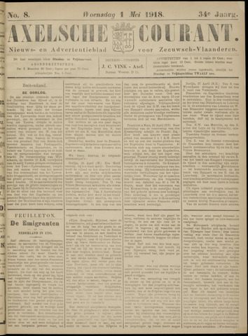 Axelsche Courant 1918-05-01