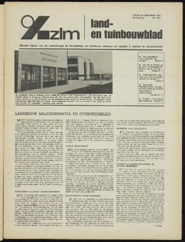 Zeeuwsch landbouwblad ... ZLM land- en tuinbouwblad 1972-09-29