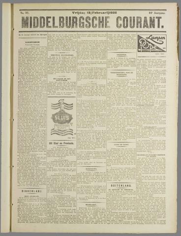 Middelburgsche Courant 1925-02-13