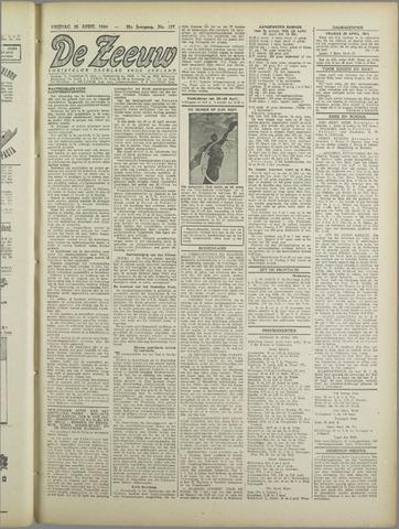 De Zeeuw. Christelijk-historisch nieuwsblad voor Zeeland 1944-04-28