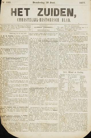 Het Zuiden, Christelijk-historisch blad 1877-06-28