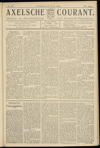 Axelsche Courant 1934-07-31