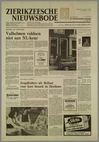 Zierikzeesche Nieuwsbode 1974-08-23
