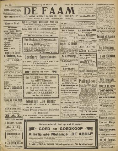 de Faam en de Faam/de Vlissinger 1923-03-28