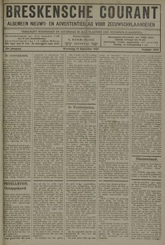 Breskensche Courant 1920-09-15