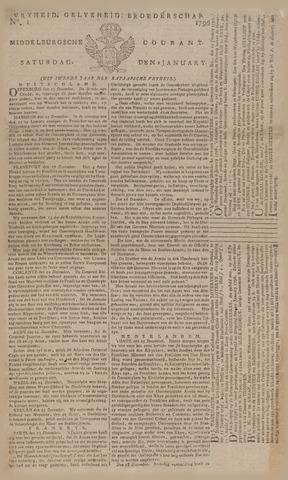 Middelburgsche Courant 1796
