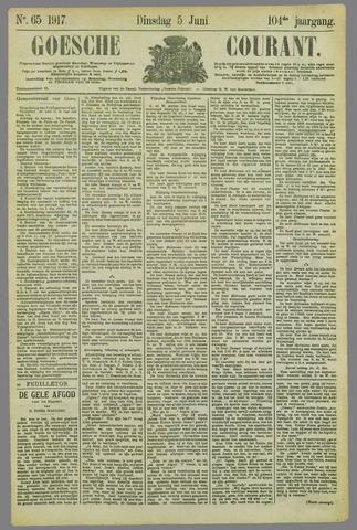 Goessche Courant 1917-06-05