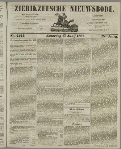 Zierikzeesche Nieuwsbode 1867-06-15