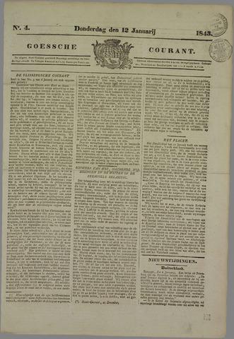 Goessche Courant 1843-01-12