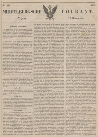 Middelburgsche Courant 1869-12-10
