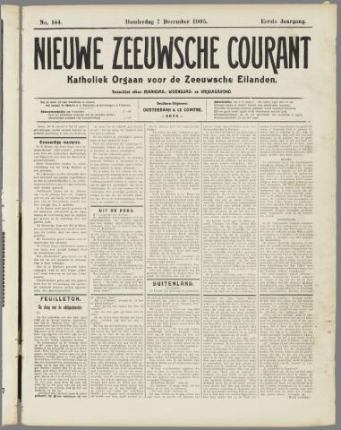 Nieuwe Zeeuwsche Courant 1905-12-07
