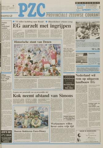 Provinciale Zeeuwse Courant 1992-06-27