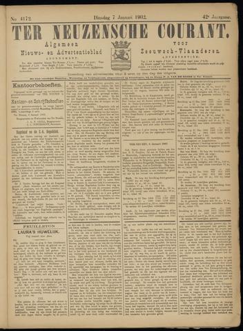 Ter Neuzensche Courant. Algemeen Nieuws- en Advertentieblad voor Zeeuwsch-Vlaanderen / Neuzensche Courant ... (idem) / (Algemeen) nieuws en advertentieblad voor Zeeuwsch-Vlaanderen 1902-01-07