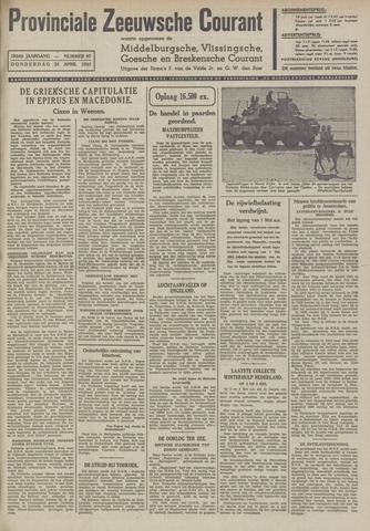Provinciale Zeeuwse Courant 1941-04-24