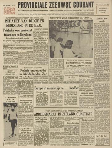 Provinciale Zeeuwse Courant 1963-02-13