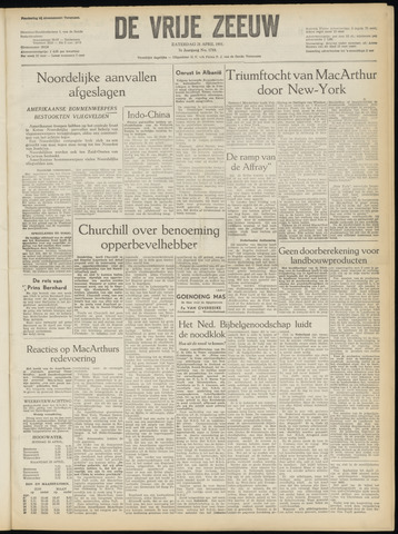 de Vrije Zeeuw 1951-04-21