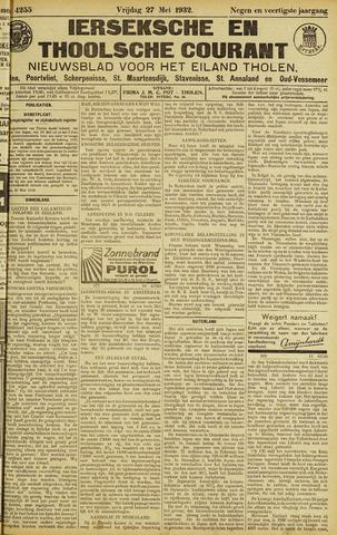 Ierseksche en Thoolsche Courant 1932-05-27