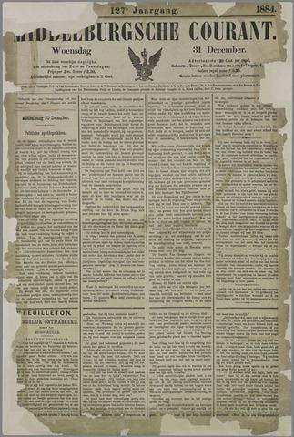Middelburgsche Courant 1884-12-31