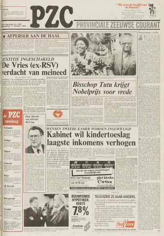 Provinciale Zeeuwse Courant 1984-10-17