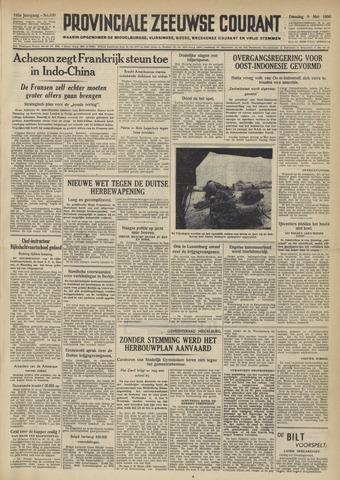 Provinciale Zeeuwse Courant 1950-05-09