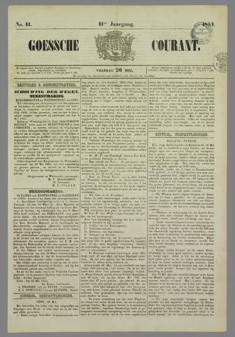 Goessche Courant 1854-05-26