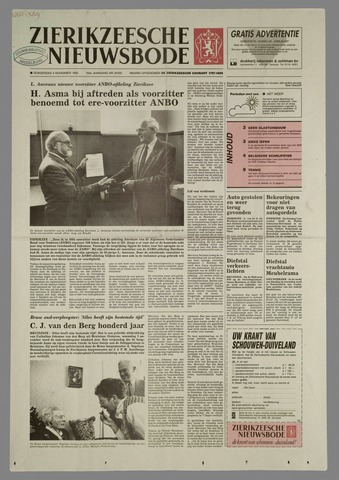 Zierikzeesche Nieuwsbode 1993-11-04