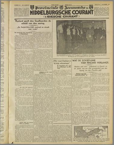 Middelburgsche Courant 1939-11-01